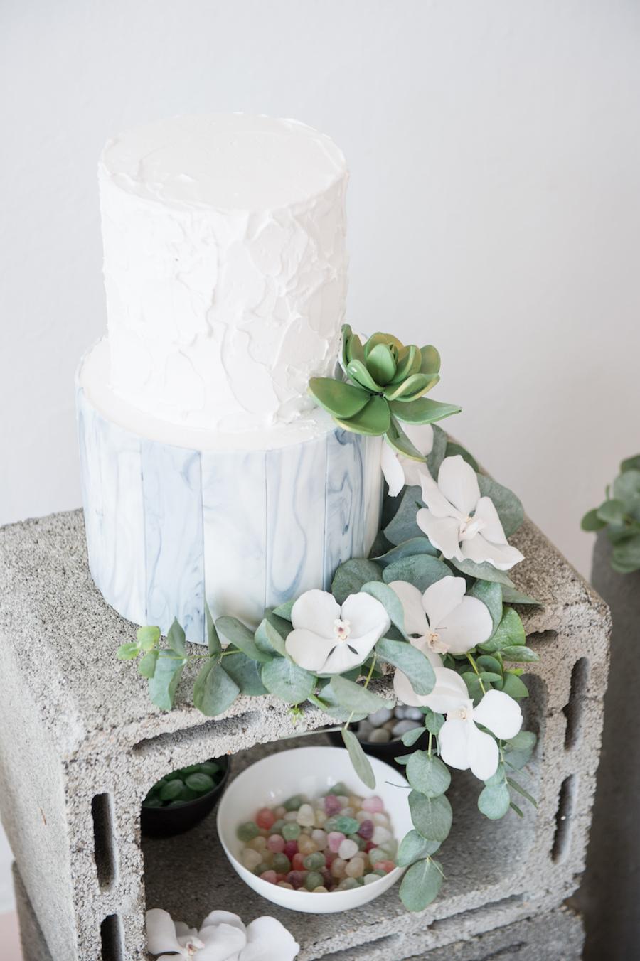 wedding cake acquerello