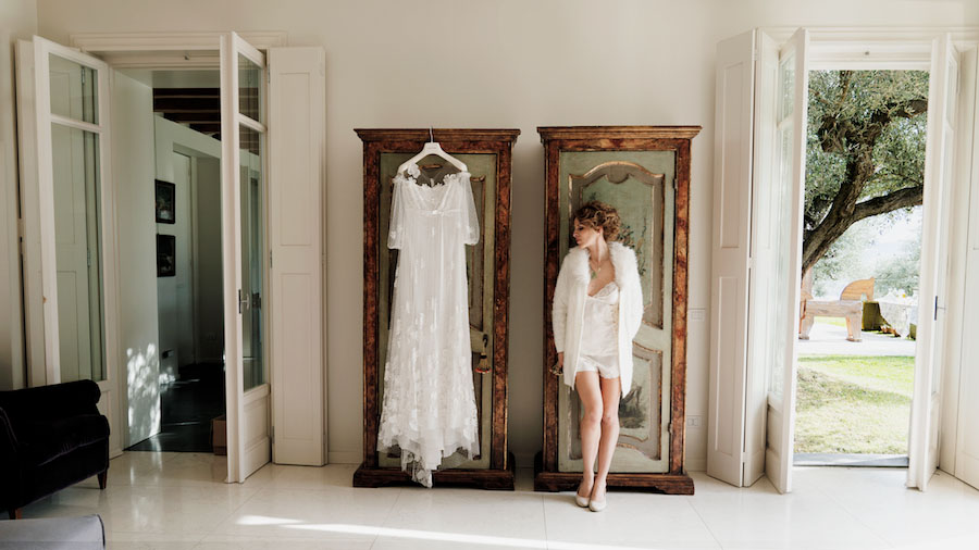 abito da sposa vintage atelier emé