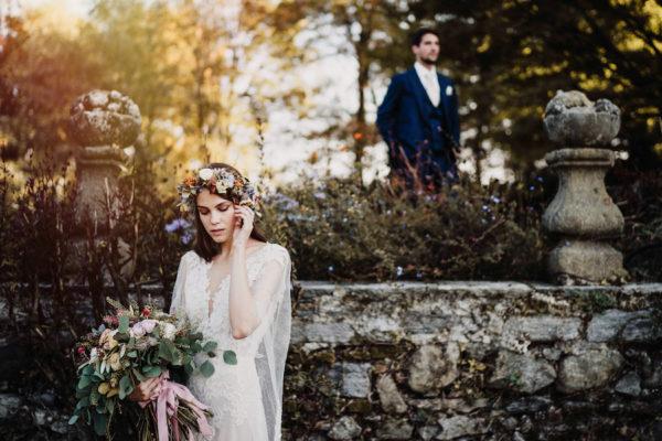 Un matrimonio autunnale incantato