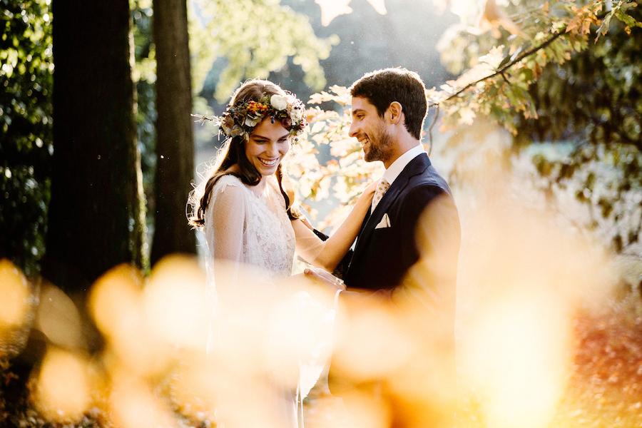matrimonio romantico autunnale