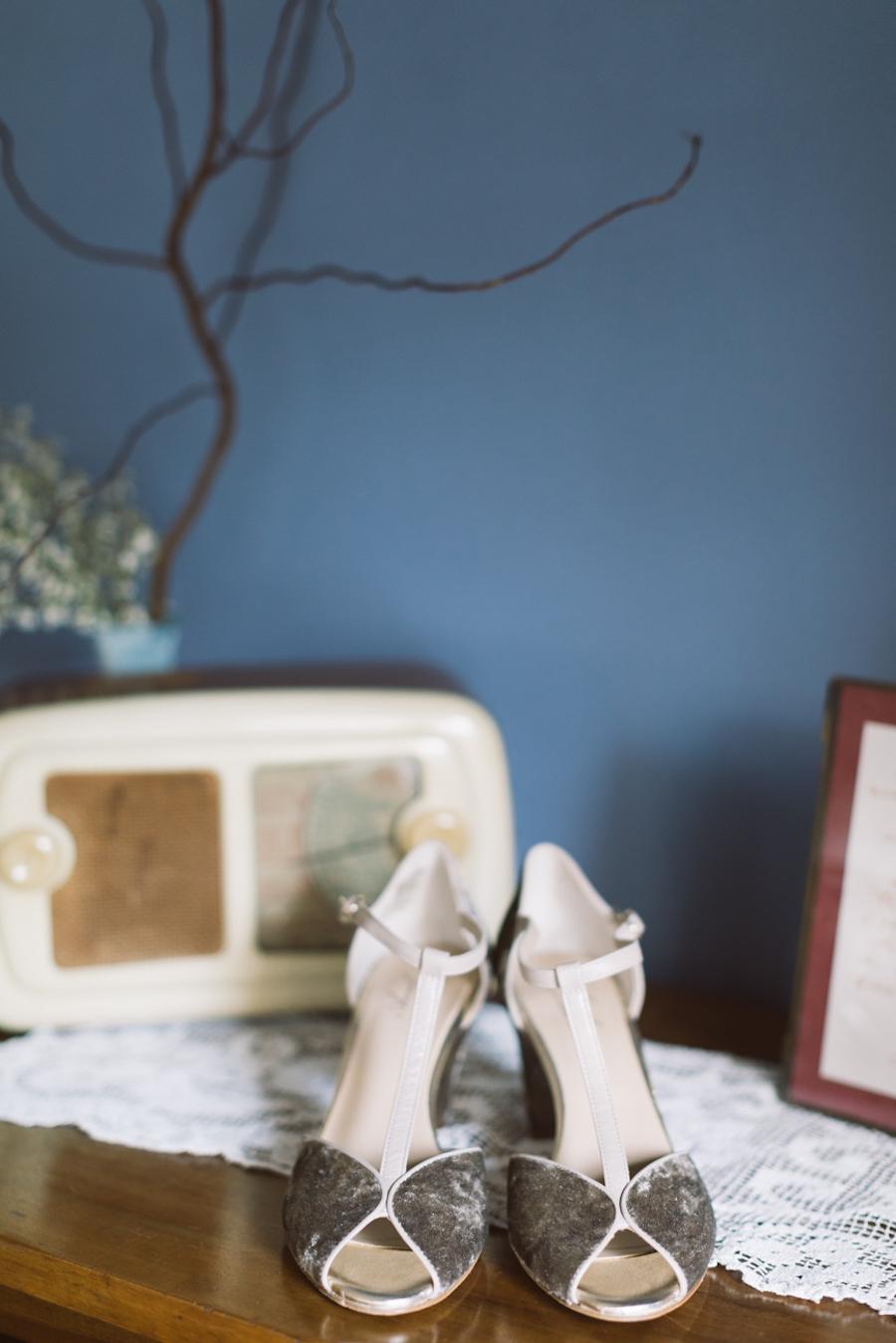 scarpe anniel in velluto