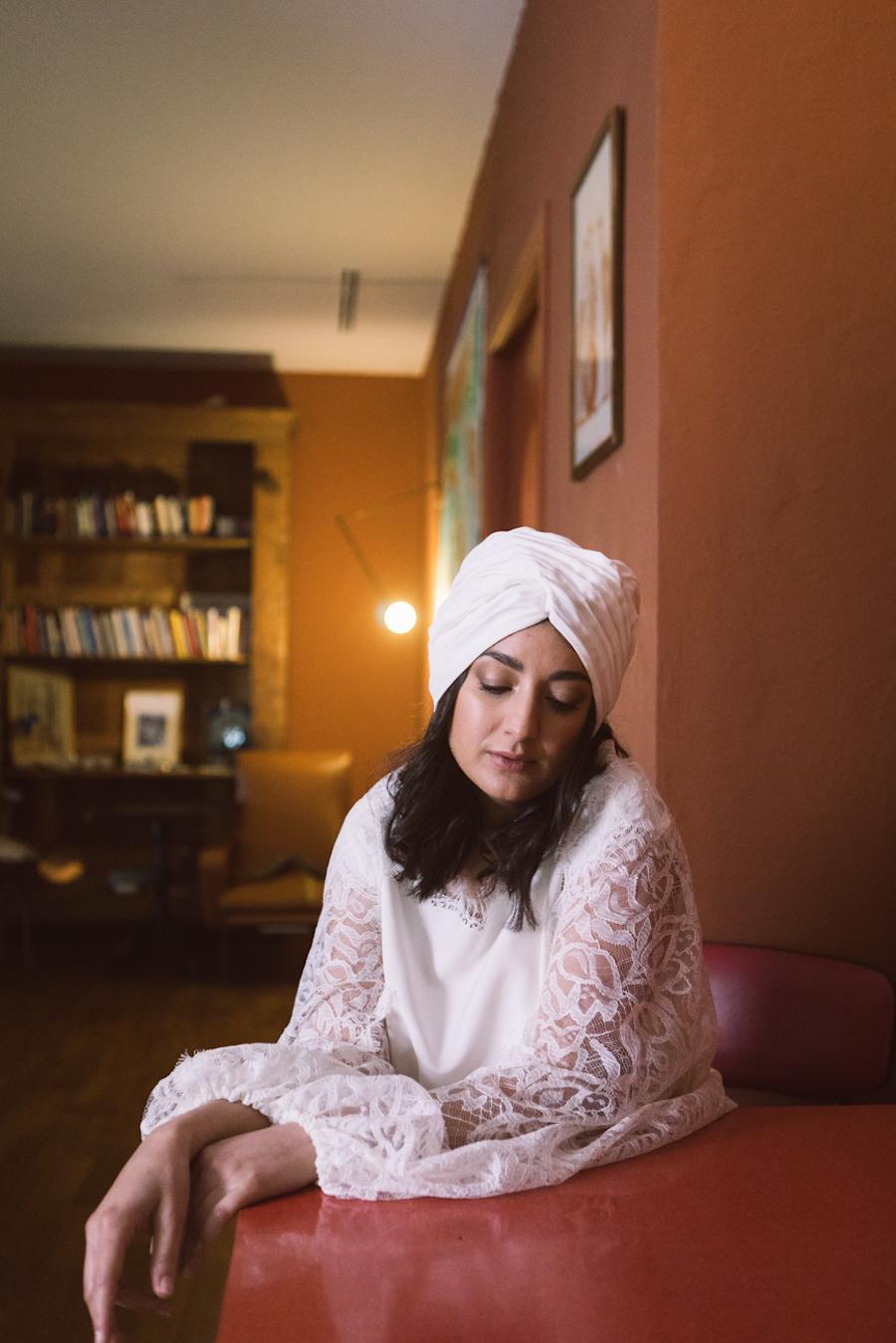 sposa con turbante