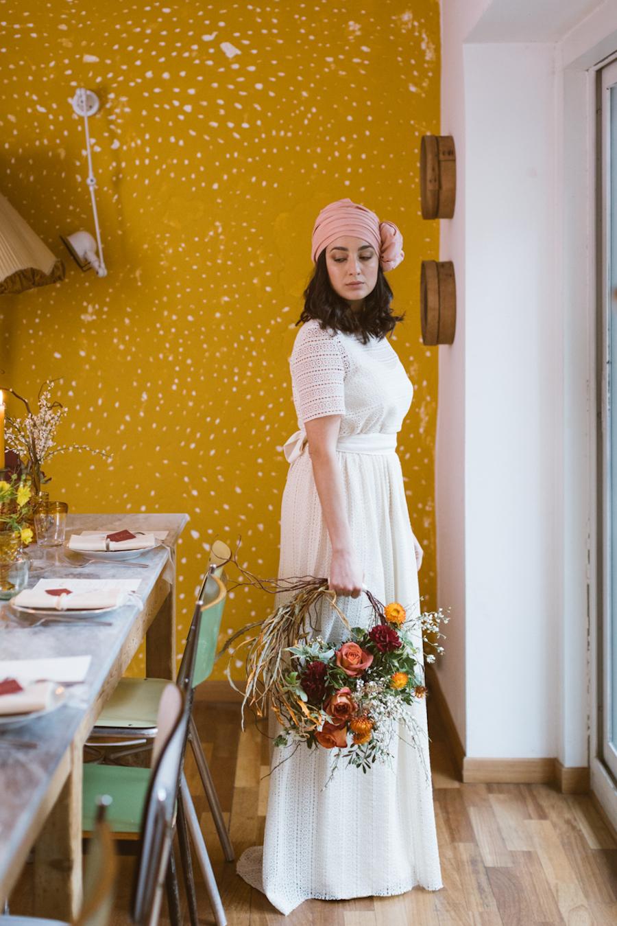 Bouquet Sposa Anni 70.Ispirazione Vintage Anni 70 Wedding Wonderland