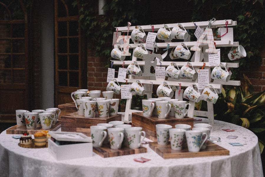 tazze da tè come bomboniere