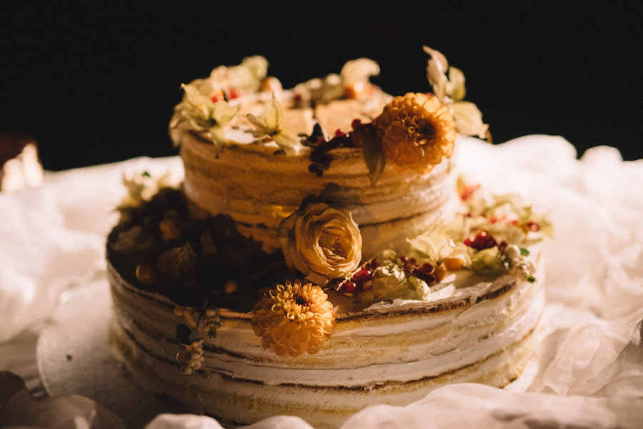 naked cake autunnale