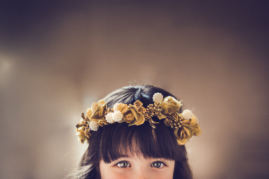 coroncina floreale boho chic