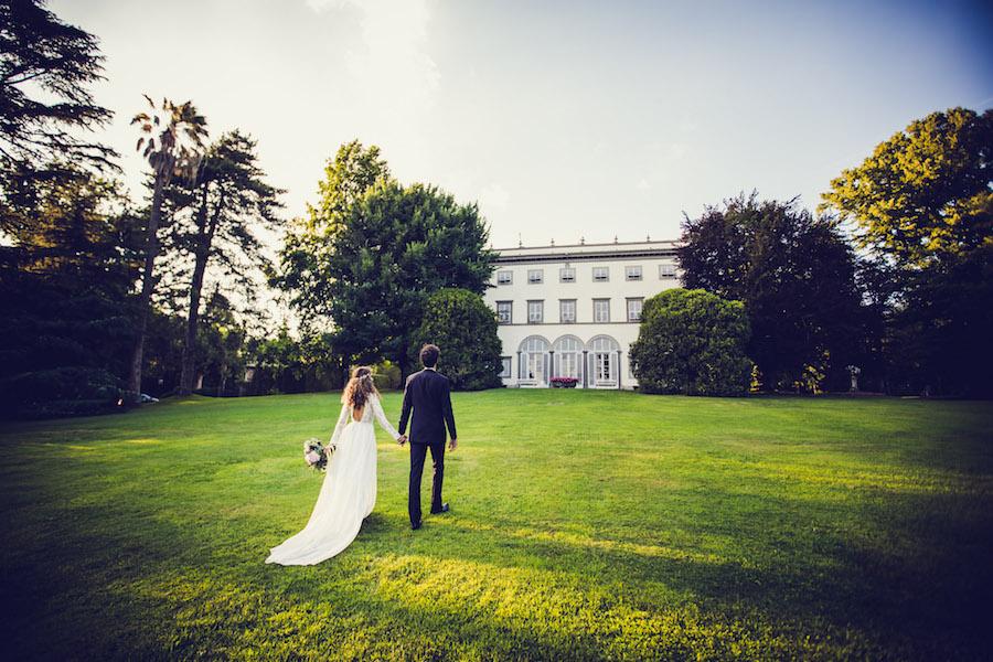 matrimonio boho chic a villa grabau