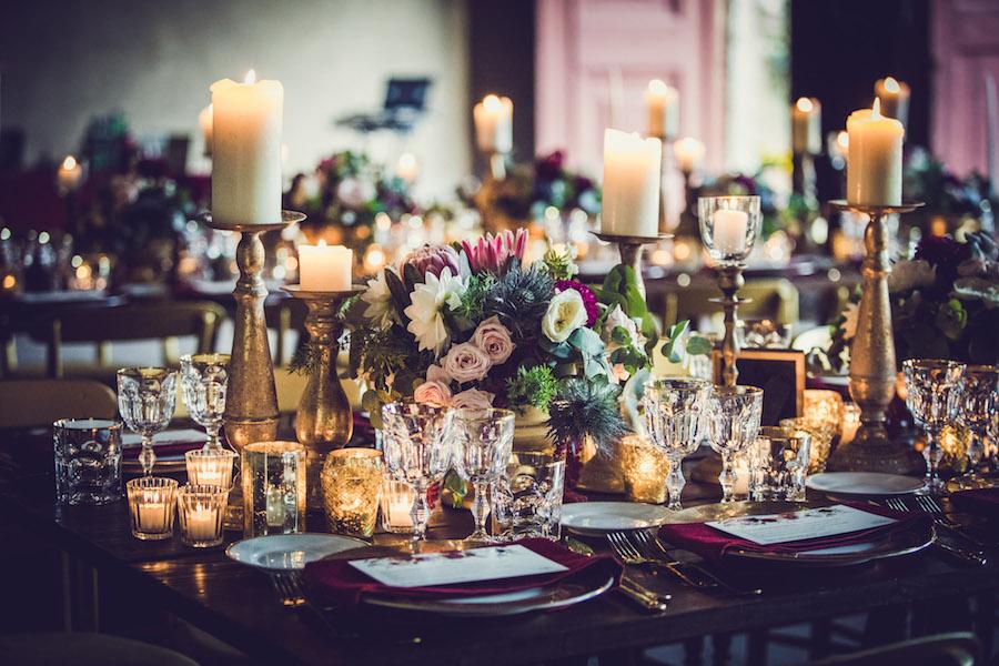 centrotavola tavola matrimonio boho chic