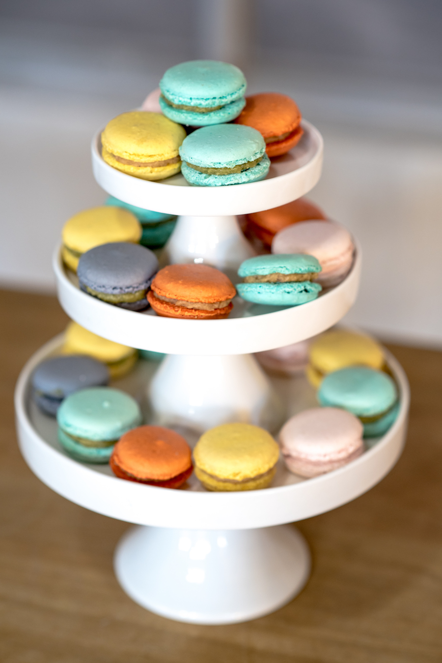macarons colori pastello