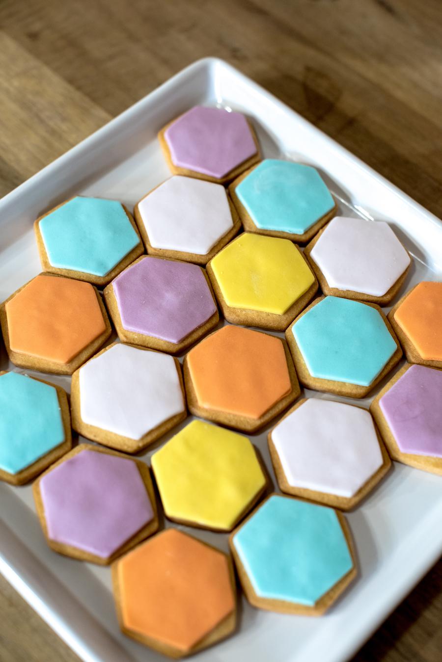 biscotti esagonali
