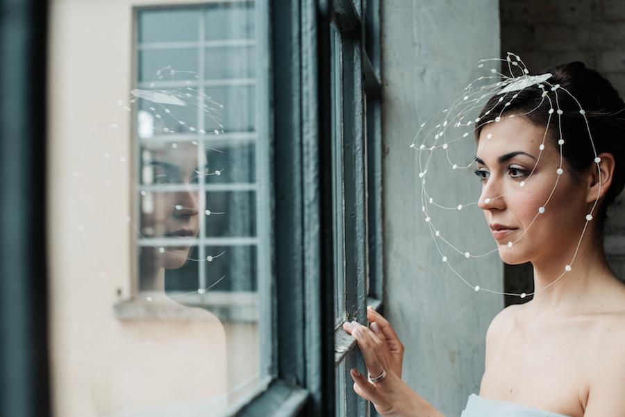 sposa con veletta