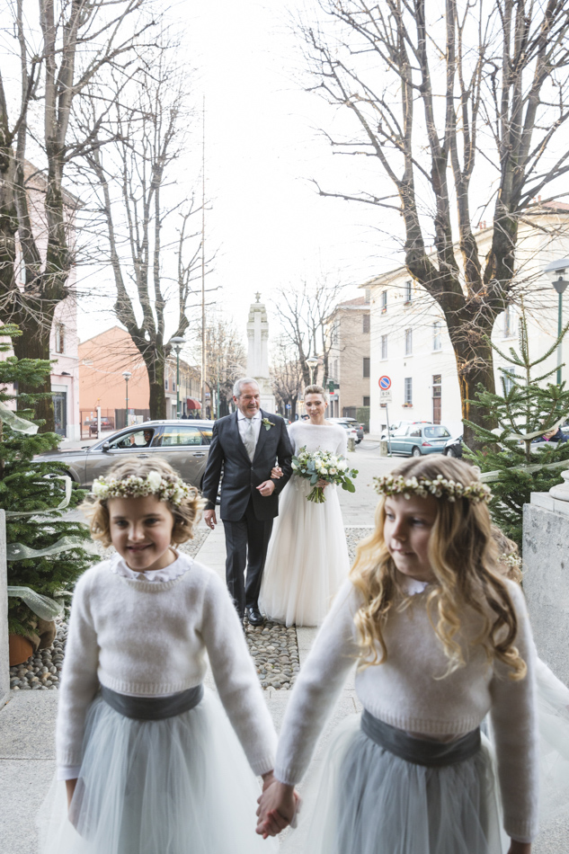 damigelle matrimonio invernale