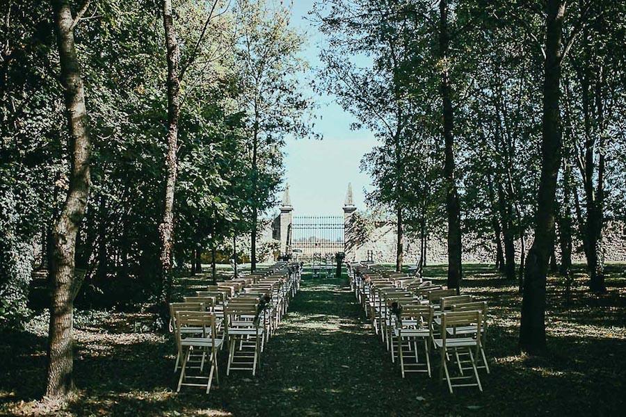 cerimonia nel bosco al convento dell'annunciata