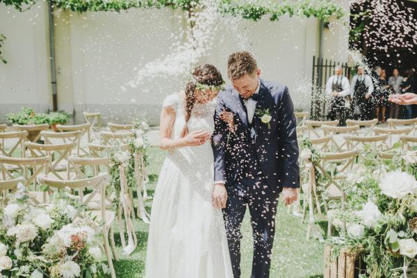 Un matrimonio ispirato ai colori della primavera