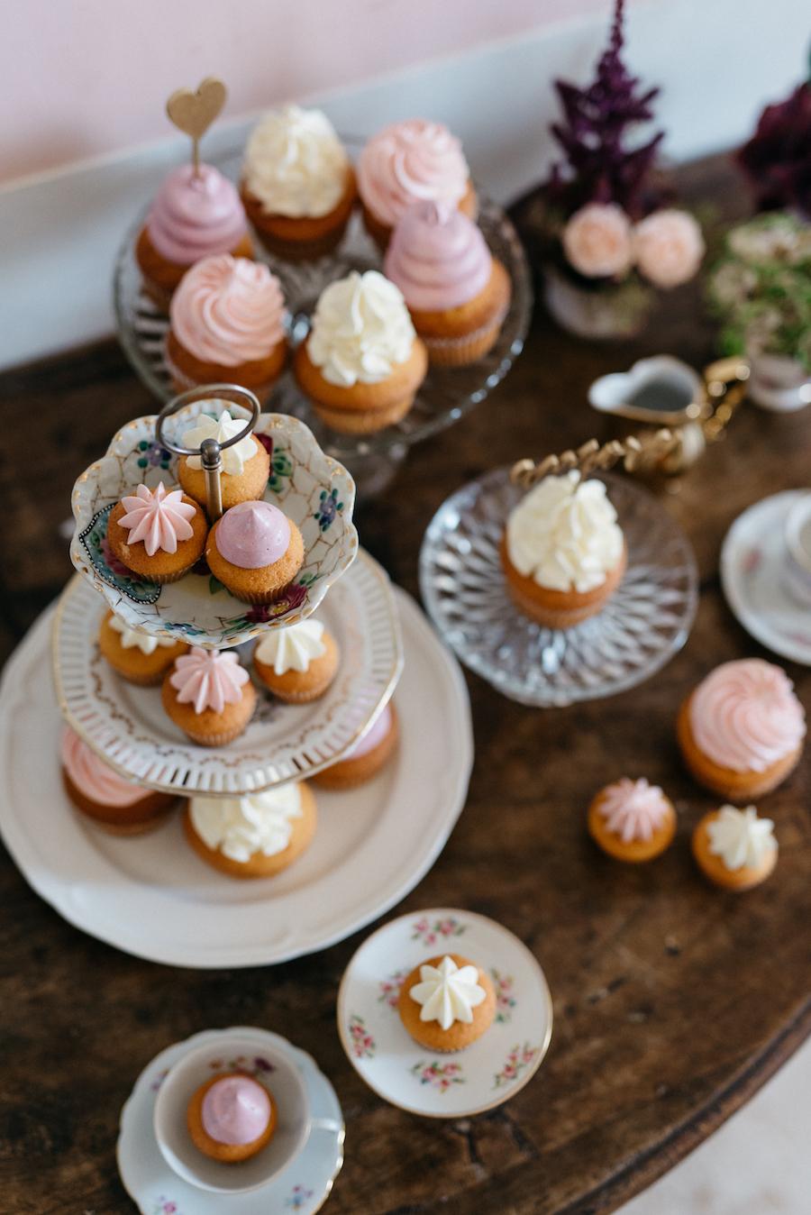 sweet table con cupcake
