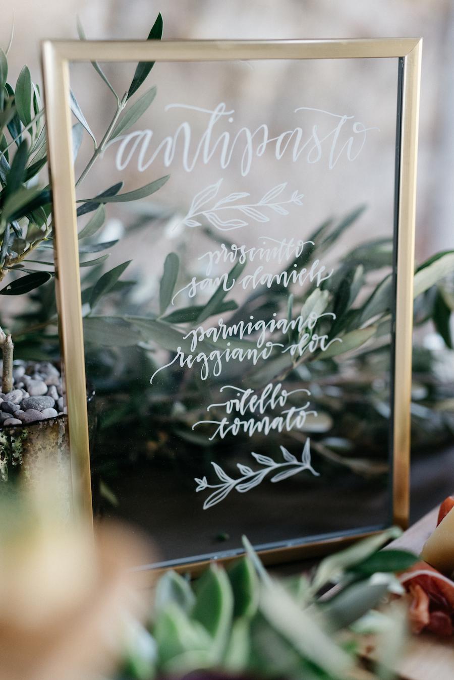 cartello matrimonio trasparente