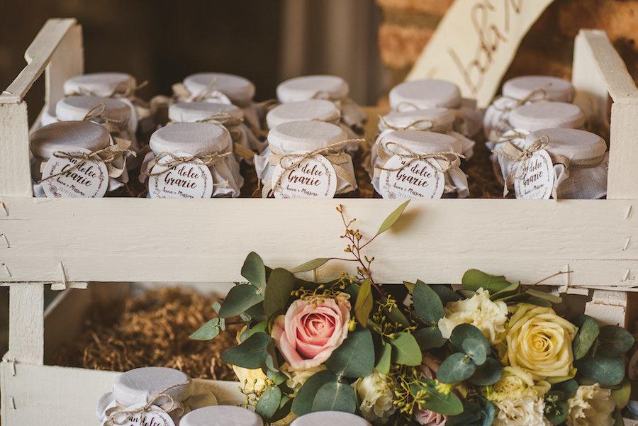 bomboniere matrimonio rustico