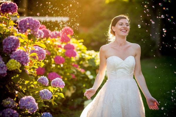 Un matrimonio handmade in rosa