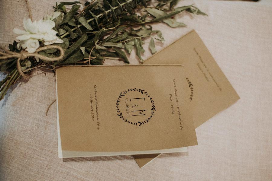 libretti messa in carta kraft