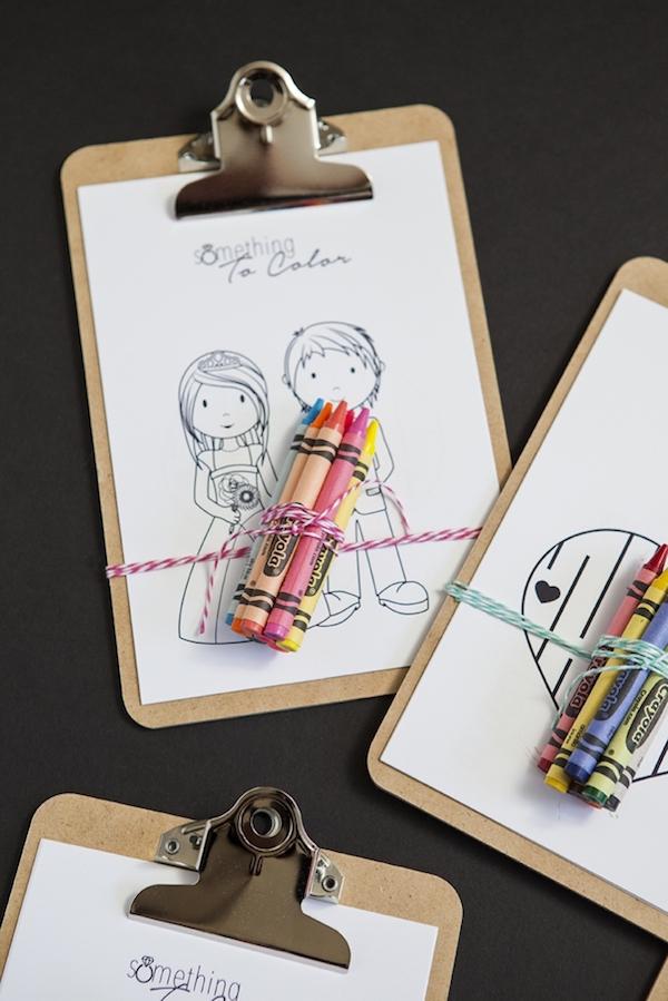 libro da colorare matrimonio