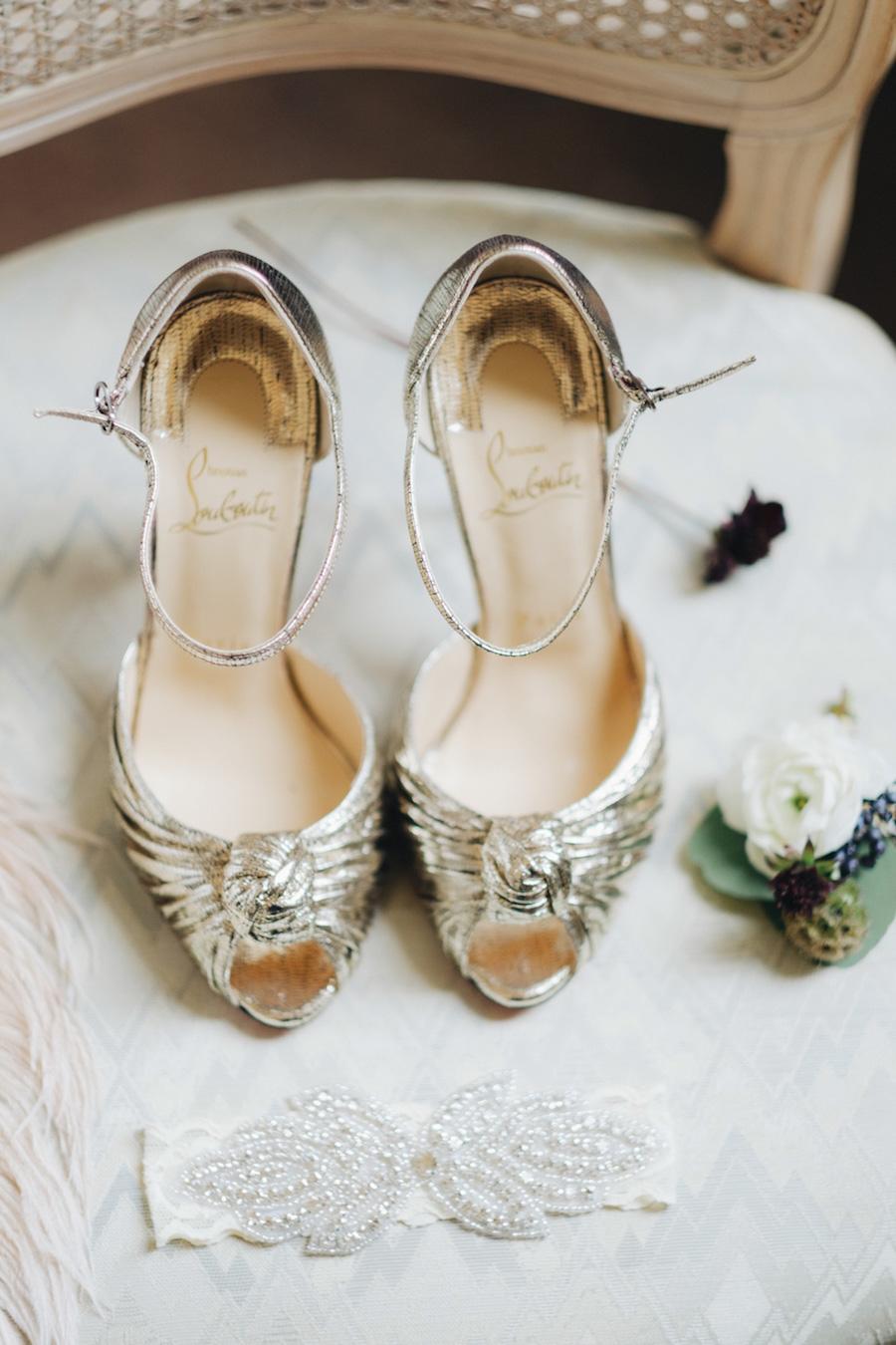 scarpe sposa loubotin