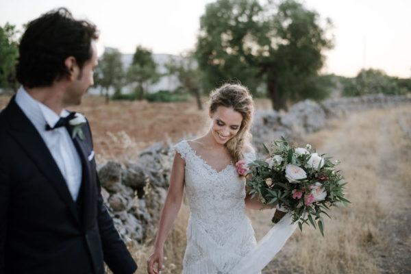 Un matrimonio boho chic in Puglia