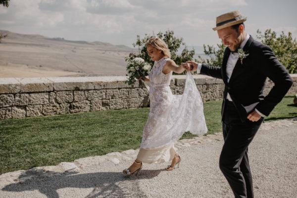 Un matrimonio tra rustico e boho chic in Sicilia