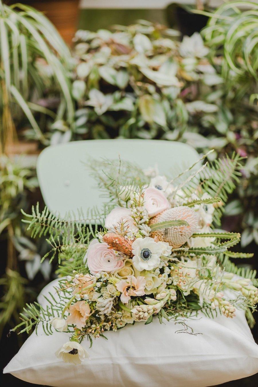 bouquet botanico boho