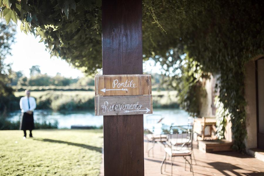cartelli calligrafici in legno