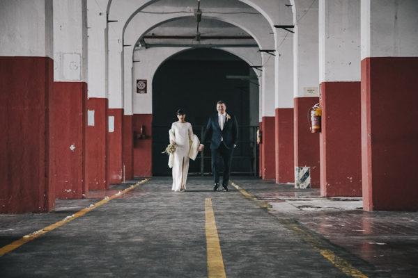 Un matrimonio moderno con una location a sorpresa