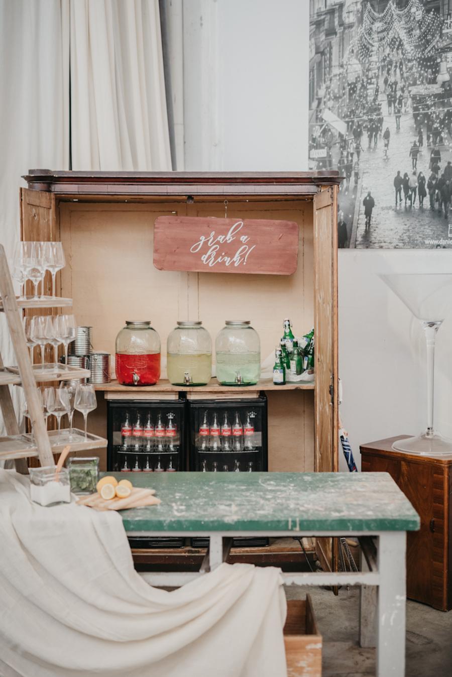 drink station vintage