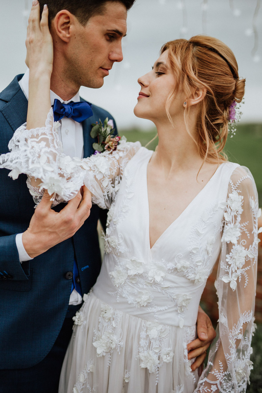 matrimonio vintage ultra violet