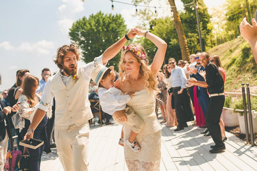 matrimonio tropicale sul lago di garda
