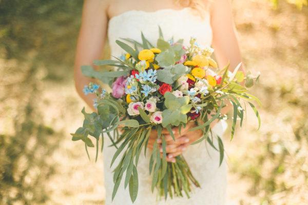 Dettagli tropicali per un matrimonio spensierato