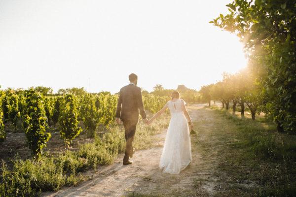 Un matrimonio boho chic a Noto