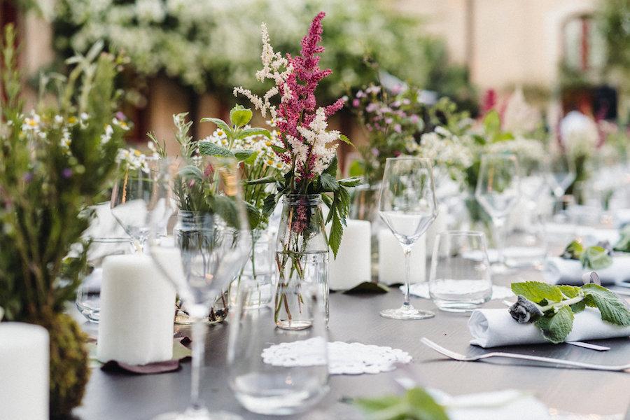 tavola matrimonio naturale
