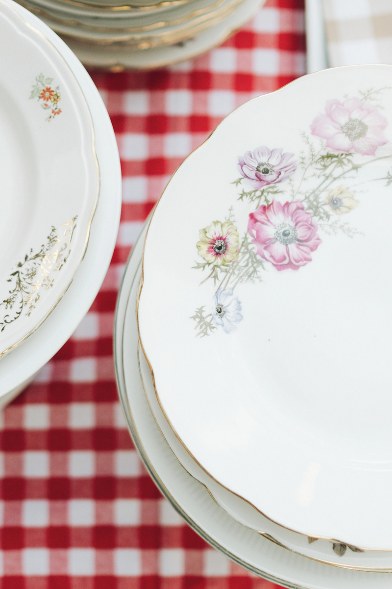 piatti floreali vintage