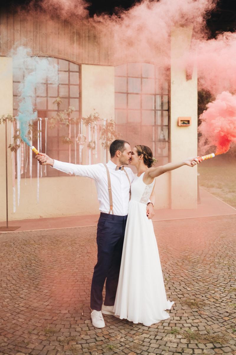 matrimonio boho chic colorato