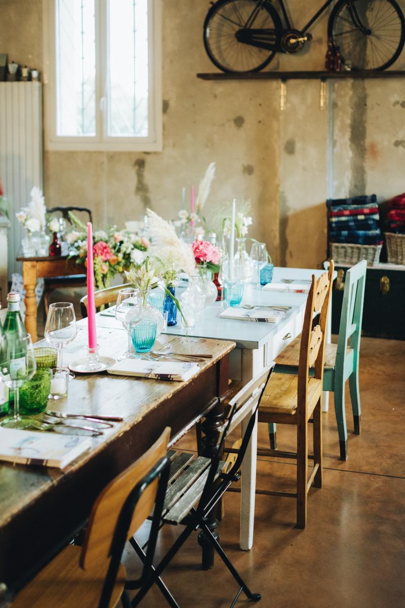 tavola matrimonio boho chic