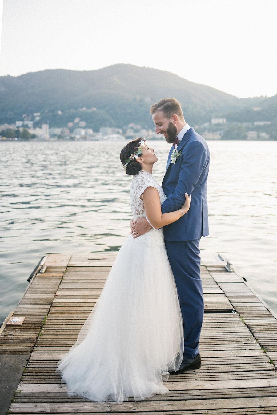 matrimonio boho chic sul lago di como