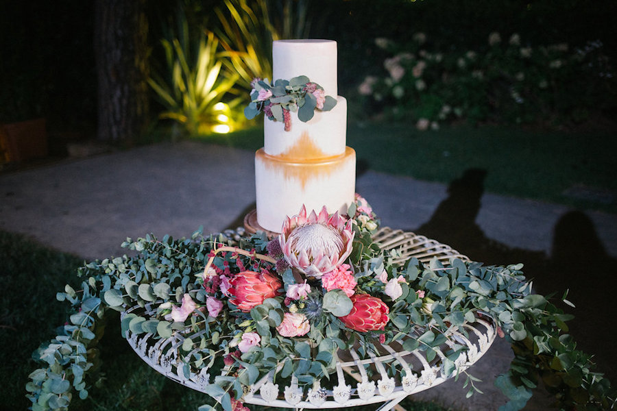 torta matrimonio boho chic