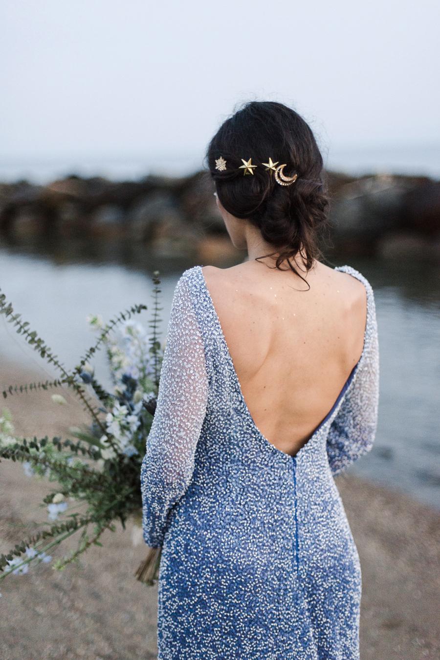 Stelle e lune per un matrimonio sulla spiaggia