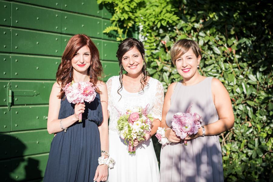 matrimonio provenzale in rosa