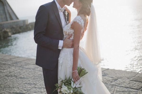 Un matrimonio romantico a Ischia