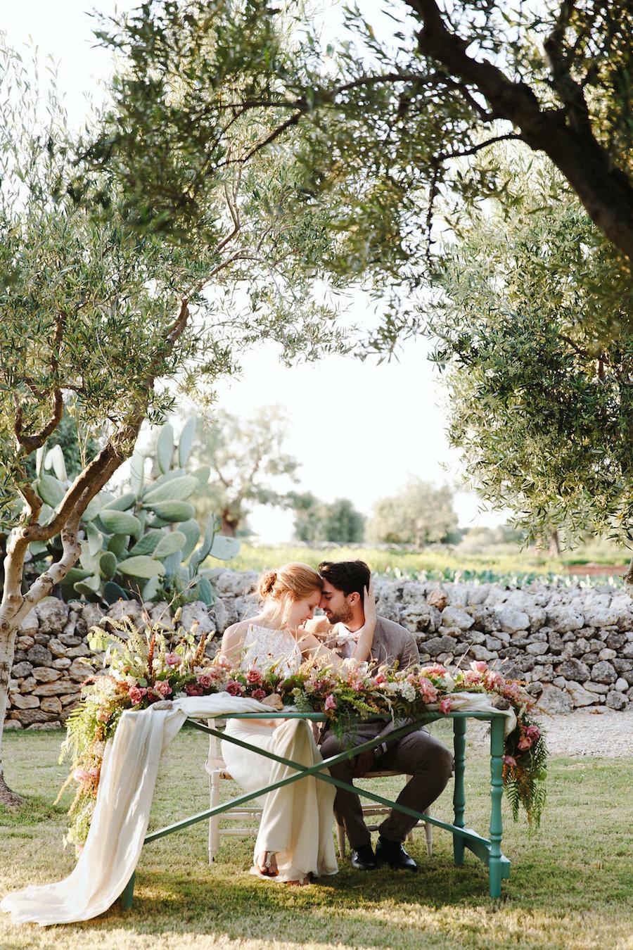 matrimonio romantico e moderno in puglia