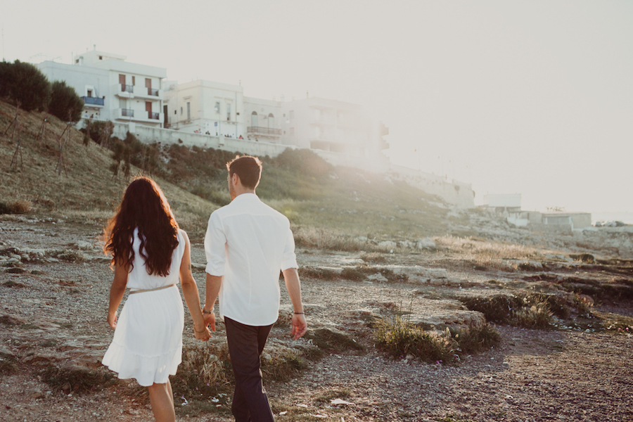 engagement session a polignano a mare