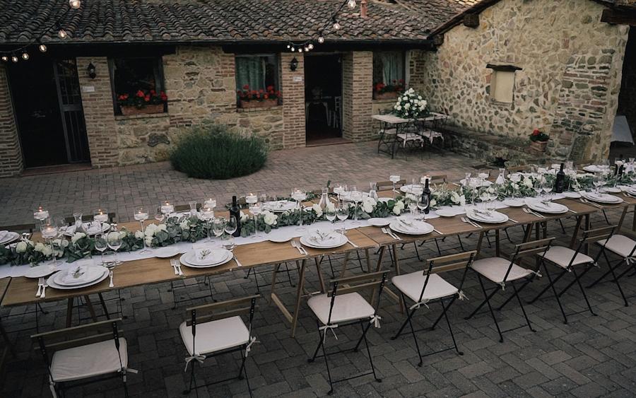 Matrimonio Rustico Toscana : Una cerimonia del tè per un matrimonio rustico wedding