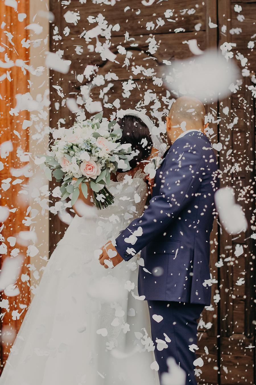 matrimonio country fatto a mano