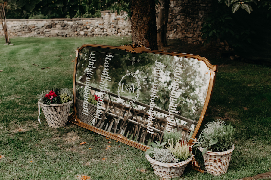 specchio tableau de mariage
