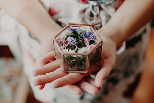 Un matrimonio bucolico e handmade